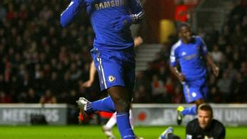 'Chelsea's Demba Ba celebrates scoring his side's fourth goal of the gamePhoto: Press Association/PIXSELL'