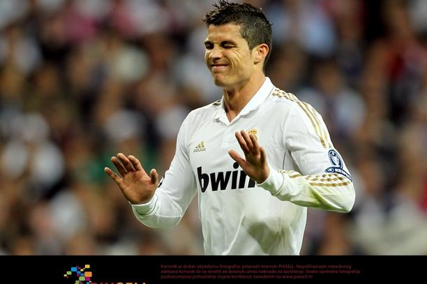 'Real Madrid's Cristiano Ronaldo reacts Photo: Press Association/Pixsell'