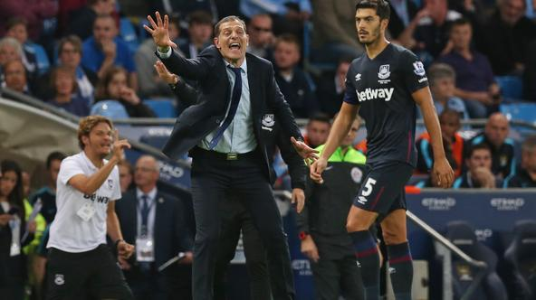 Football - Manchester City v West Ham United - Barclays Premier League - Etihad Stadium - 19/9/15 West Ham manager Slaven Bilic Action Images via Reuters / Alex Morton Livepic EDITORIAL USE ONLY. No use with unauthorized audio, video, data, fixture lists,